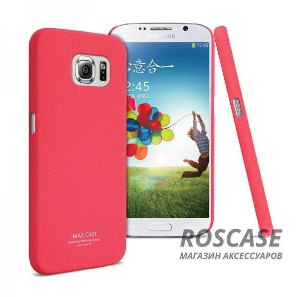 Пластиковая накладка IMAK Cowboy series для Samsung Galaxy S6 G920F/G920D Duos (Красный)Описание:бренд:&amp;nbsp;IMAK;совместим с Samsung Galaxy S6 G920F/G920D Duos;материал: поликарбонат;форма: накладка.&amp;nbsp;Особенности:тонкий дизайн;не скользит в руках;песочная фактура;не выгорает;все вырезы в наличии;защита от механических повреждений.<br><br>Тип: Чехол<br>Бренд: iMak<br>Материал: Поликарбонат