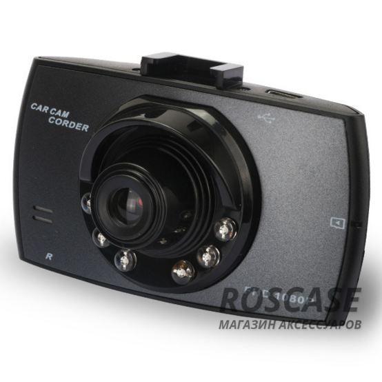 "Фото Видеорегистратор Full HD 1080P 30fps с с 4х кратным зумом + ночная съемка / Экран 2.5"" TFT"