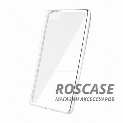 Прозрачный силиконовый чехол для Huawei Ascend P8 с глянцевой окантовкой (Серебряный)Описание:подходит для Huawei Ascend P8;материал - силикон;тип - накладка.Особенности:глянцевая окантовка;прозрачный центр;гибкий;все вырезы в наличии;не скользит в руках;ультратонкий.<br><br>Тип: Чехол<br>Бренд: Epik<br>Материал: Силикон