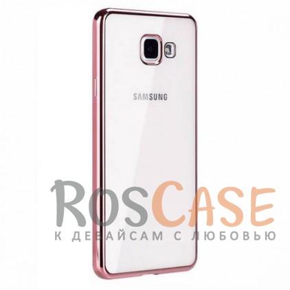 Прозрачный силиконовый чехол для Samsung A310F Galaxy A3 (2016) с глянцевой окантовкой (Розовый)Описание:подходит для Samsung A310F Galaxy A3 (2016);материал - силикон;тип - накладка.Особенности:глянцевая окантовка;прозрачный центр;гибкий;все вырезы в наличии;не скользит в руках;ультратонкий.<br><br>Тип: Чехол<br>Бренд: Epik<br>Материал: Силикон