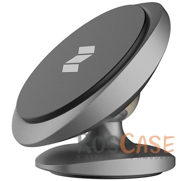 Универсальный магнитный держатель Rock Magnetic Dashboard для смартфоновОписание:производитель&amp;nbsp;Rock;совместимость: GPS навигаторы,&amp;nbsp;смартфоны диагональю до 6 дюймов;материалы: алюминий, силикон;тип: автомобильный держатель;вес: 60 граммов;компактные размеры;магнитное крепление.<br><br>Тип: Автодержатель<br>Бренд: ROCK