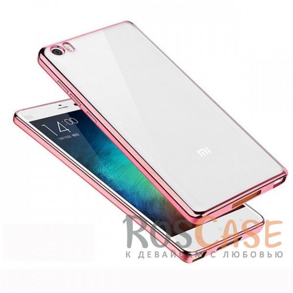 Прозрачный силиконовый чехол для Xiaomi MI5 / MI5 Pro с глянцевой окантовкой (Розовый)Описание:подходит для Xiaomi MI5 / MI5 Pro;материал - силикон;тип - накладка.Особенности:глянцевая окантовка;прозрачный центр;гибкий;все вырезы в наличии;не скользит в руках;ультратонкий.<br><br>Тип: Чехол<br>Бренд: Epik<br>Материал: TPU