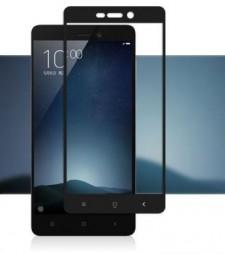 """Защитное стекло с цветной рамкой на весь экран с олеофобным покрытием """"анти-отпечатки""""  для Xiaomi Redmi 3S"""