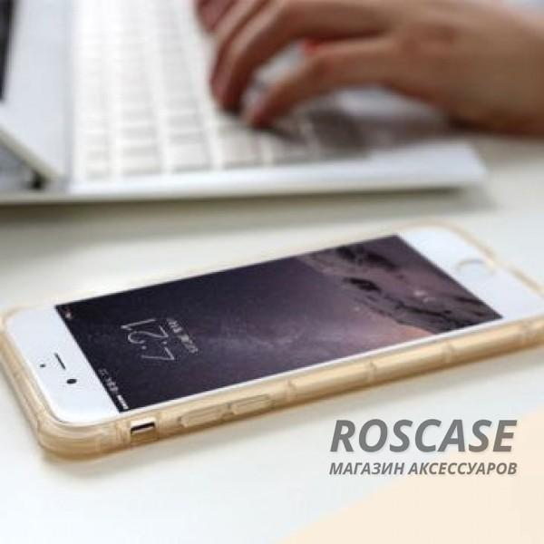 """Фото Розовый / Transparent pink ROCK Fence   Прозрачный чехол для Apple iPhone 7 / 8 (4.7"""") из силикона"""
