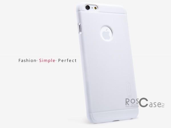 "Фотография Белый Nillkin Super Frosted Shield | Матовый чехол для Apple iPhone 6 plus (5.5"")  / 6s plus (5.5"") (+ пленка)"