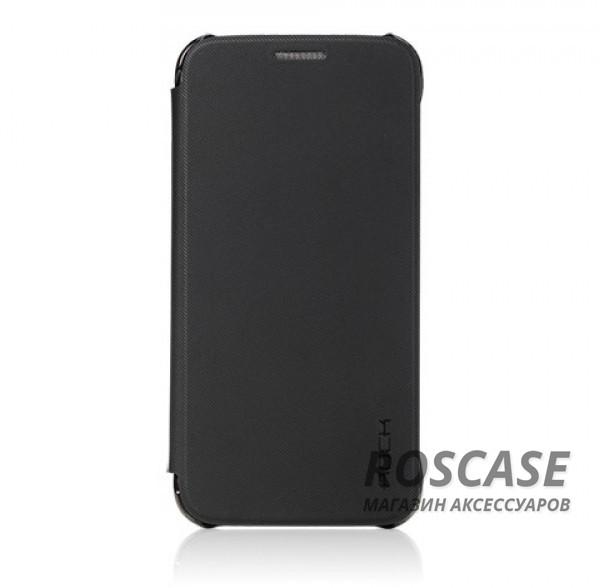 Чехол (книжка) Rock Veena Series для Samsung G930F Galaxy S7 (Черный / Black)Описание:продукт компании&amp;nbsp;ROCK;разработан специально для&amp;nbsp;Samsung G930F Galaxy S7;материалы: поликарбонат, полиуретан;формат: чехол-книжка.Особенности:присутствуют все необходимые вырезы;рифленая поверхность;олеофобное покрытие;устойчив к появлению царапин;удобно ложится в руку.<br><br>Тип: Чехол<br>Бренд: ROCK<br>Материал: TPU