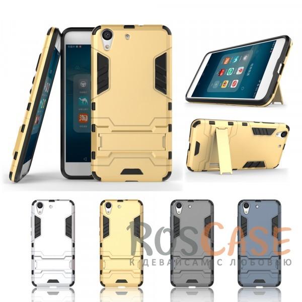 Ударопрочный чехол-подставка Transformer для Huawei Y6 II с мощной защитой корпусаОписание:подходит для Huawei Y6 II;материалы: термополиуретан, поликарбонат;формат: накладка.&amp;nbsp;Особенности:функциональные вырезы;функция подставки;двойная степень защиты;защита от механических повреждений;не скользит в руках.<br><br>Тип: Чехол<br>Бренд: Epik<br>Материал: TPU