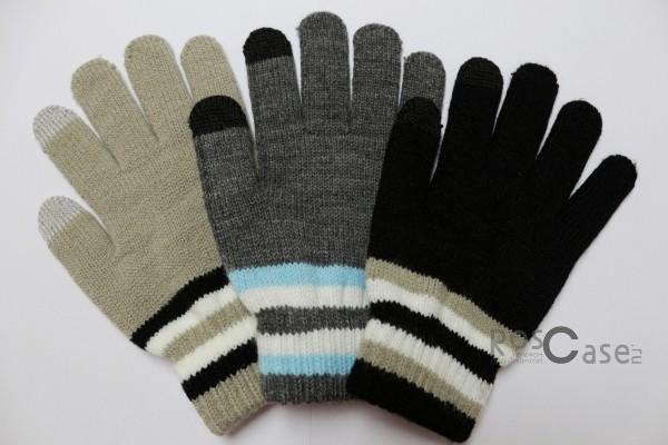 Емкостные перчатки утепленные под кашемирОписание:бренд -&amp;nbsp;Epik;предназначены для работы с сенсорным экраном;материал - шерсть, акрил;тип - емкостные перчатки.Особенности:возможность управлять гаджетом в перчатках;утепленные перчатки;вставки из серебряной нити, которая пропускает тепло;универсальный размер;свойства не теряются даже если они намокнут.<br><br>Тип: Общие аксессуары<br>Бренд: Epik