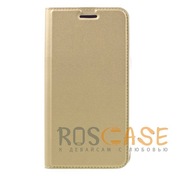 Фотография Золотой Dux Ducis | Чехол-книжка для Xiaomi Redmi 5A с подставкой и карманом для визиток