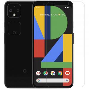 Nillkin Crystal | Защитная пленка Анти-отпечатки для Google Pixel 4 на экран и камеру