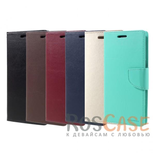 Стильный гладкий кожаный чехол-книжка на магнитной застежке Mercury Bravo Diary с функцией подставки и кармашками под карты для Samsung G950 Galaxy S8Описание:бренд - Mercury;идеально совместим с&amp;nbsp;Samsung G950 Galaxy S8;материалы - искусственная кожа, термополиуретан;трансформируется в подставку;магнитная застежка;предусмотрены все функциональные вырезы;гладкая поверхность.<br><br>Тип: Чехол<br>Бренд: Mercury<br>Материал: Искусственная кожа