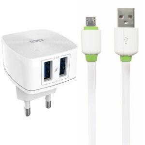 EMY MY-227 | Сетевое зарядное устройство (2USB 2.4A) + кабель MicroUSB для Apple iPad Pro 10.5 (2017)