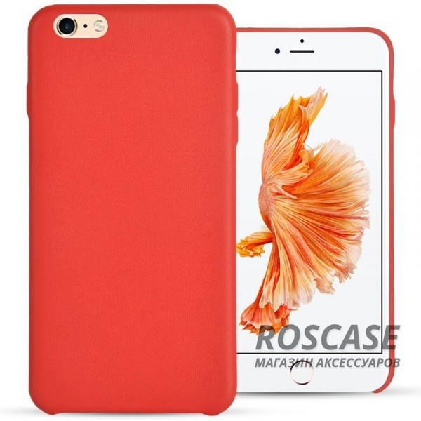 Ультратонкая кожаная PU накладка для Apple iPhone 6/6s (4.7) (Красный)Описание:компания&amp;nbsp;Epik;разработан для&amp;nbsp;Apple iPhone 6/6s (4.7);материал: искусственная кожа;форма: накладка.&amp;nbsp;Особенности:не скользит в руках;ультратонкая;все вырезы в наличии;защищает от механических повреждений;износостойкая и прочная.<br><br>Тип: Чехол<br>Бренд: Epik<br>Материал: Искусственная кожа