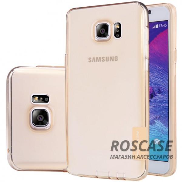 Мягкий прозрачный силиконовый чехол для Samsung Galaxy Note 5 (Золотой (прозрачный))Описание:производитель  -  бренд&amp;nbsp;Nillkin;совместим с Samsung Galaxy Note 5;материал  -  термополиуретан;тип  -  накладка.&amp;nbsp;Особенности:в наличии все вырезы;не скользит в руках;тонкий дизайн;защита от ударов и царапин;прозрачный.<br><br>Тип: Чехол<br>Бренд: Nillkin<br>Материал: TPU