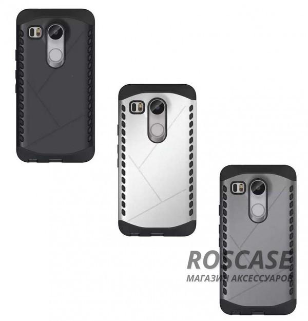 Противоударный защитный чехол Armor для LG Google Nexus 5x с усиленным прорезиненным бамперомОписание:совместимость: LG Google Nexus 5x;форм-фактор: накладка;материал: термополиуретан, поликарбонат.Преимущества:устойчив к повреждениям;не скользит в руках;эргономичный;легко очищается;защита боковых панелей;амортизация;надежная фиксация;стильный дизайн.<br><br>Тип: Чехол<br>Бренд: Epik<br>Материал: TPU