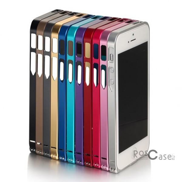 фото алюминиевый бампер LOVE MEI Ultrathin для Apple iPhone 4/4S
