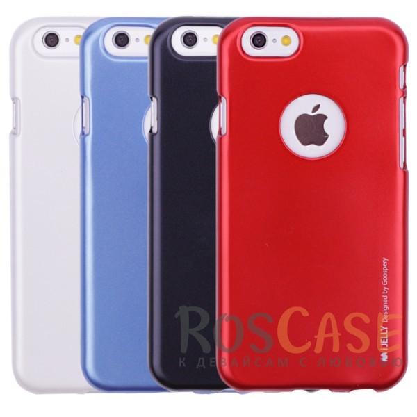 """Фото Mercury iJelly Metal   Силиконовый чехол для Apple iPhone 6/6s (4.7"""")"""