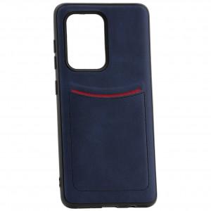 iLevel | Чехол с кожаным покрытием и карманом  для Samsung Galaxy S20 Ultra