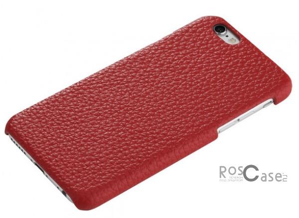 Кожаная накладка ROCK Jazz Series для Apple iPhone 6/6s (4.7) (Красный / Red)&amp;nbsp;Описание:компания-производитель:&amp;nbsp;ROCK;совместим с Apple iPhone 6/6s (4.7);материалы: натуральная кожа, поликарбонат;форма чехла: накладка.&amp;nbsp;Особенности:пыленепроницаемый;полный набор функциональных вырезов;не скользит;высокая степень защиты;элегантный дизайн;тонкое исполнение.<br><br>Тип: Чехол<br>Бренд: ROCK<br>Материал: Натуральная кожа