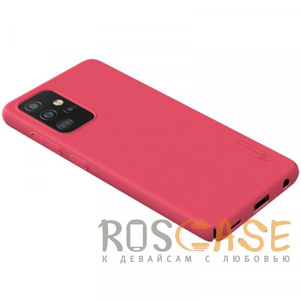 Изображение Красный Nillkin Super Frosted Shield | Матовый пластиковый чехол для Samsung Galaxy A52