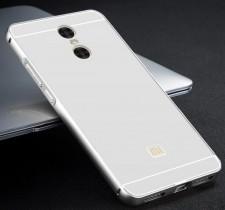 Металлический бампер для Xiaomi Redmi Pro с акриловой вставкой