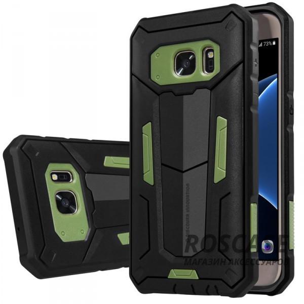 TPU+PC чехол Nillkin Defender 2 для Samsung G930F Galaxy S7 (Зеленый)Описание:производитель  - &amp;nbsp;Nillkin;совместим с Samsung G930F Galaxy S7;материал  -  термополиуретан, поликарбонат;тип  -  накладка.&amp;nbsp;Особенности:в наличии все вырезы;противоударный;стильный дизайн;надежно фиксируется;защита от повреждений.<br><br>Тип: Чехол<br>Бренд: Nillkin<br>Материал: TPU