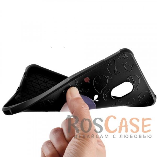 Фото Синий Кит Противоударный силиконовый чехол для Meizu Pro 6 Plus