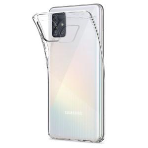 Прозрачный силиконовый чехол  для Samsung Galaxy A51