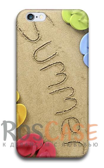 """Фото Пластиковый чехол RosCase """"ЛЕТО!"""" для iPhone 6/6s (4.7"""")"""