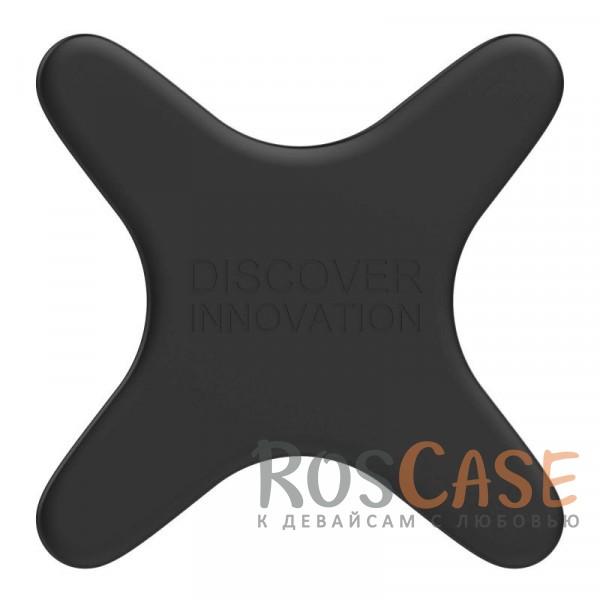 Пластина Nillkin X Magnetic Plate для совместимости смартфона с магнитным автодержателем (Черный)Описание:тип: магнитная пластина;материал: силикон;совместимость: магнитные автодержатели, беспроводная магнитная зарядка;покрытие анти-отпечатки;приятна на ощупь;четыре магнита по краям пластины;уникальный дизайн.<br><br>Тип: Автодержатель<br>Бренд: Nillkin