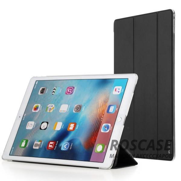 Чехол (книжка) Rock Touch series для Apple iPad Pro 12,9 (Черный / Black)Описание: компания разработчик: Rock;совместимость с устройством модели: Apple iPad Pro 12,9;материал изготовления: синтетическая кожа, искусственная кожа;конфигурация: чехол в виде книжки.Особенности:максимально высокая прочность и износоустойчивость;классический дизайн, сочетающий модные тренды;функция Sleep mode;длительный срок службы.<br><br>Тип: Чехол<br>Бренд: ROCK<br>Материал: Искусственная кожа