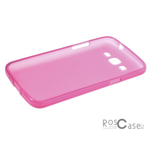 TPU Matte Double-sided для Samsung G7102 Galaxy Grand 2 (Розовый (Soft touch))