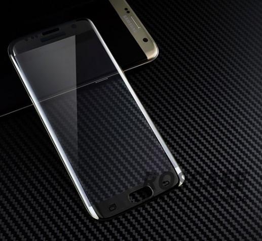 Противоударное закаленное стекло 0.2mm с защитой на весь экран Samsung G935F Galaxy S7 Edge (2.5D) (Черный)Описание:идеально подходит для Samsung G935F Galaxy S7 Edge;материал: закаленное стекло;тип: стекло на экран.&amp;nbsp;Особенности:закругленные грани 2.5D;ультратонкое  -  0,2 мм;прочность  -  9H;закрывает весь экран, в том числе боковые закругления;ударопрочное;олеофобное покрытие;цветная окантовка;защищает от царапин.<br><br>Тип: Защитное стекло<br>Бренд: Epik
