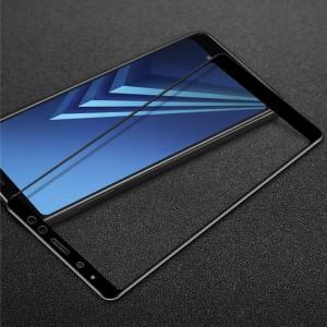 5D защитное стекло для Samsung A730 Galaxy A8+ (2018) на весь экран