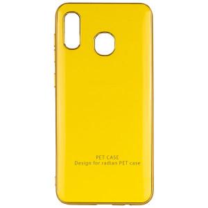 GLOSSY LOGO | Глянцевый гибкий чехол  для Samsung Galaxy A30 (A305F)