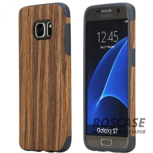 Деревянная накладка Rock Origin Series (Grained) для Samsung G930F Galaxy S7 (Rosewood)Описание:от бренда&amp;nbsp;Rock;подходит для Samsung G930F Galaxy S7;тип: накладка;материалы: термополиуретан и натуральное дерево.Особенности:защита корпуса от повреждений;фактура шероховатая;фиксация надежная;текстура приятная на ощупь;оригинальный дизайн.<br><br>Тип: Чехол<br>Бренд: ROCK<br>Материал: TPU