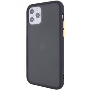 Противоударный матовый полупрозрачный чехол  для iPhone 12 / 12 Pro