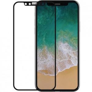 """Ультратонкое защитное стекло Devia Van на весь экран с цветной рамкой и пленкой на заднюю панель для Apple iPhone X (5.8"""")/XS (5.8"""")"""