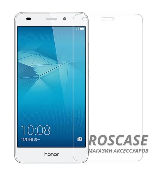 Защитное стекло Ultra Tempered Glass 0.33mm (H+) для Huawei Honor 5C / GT3 (в упаковке)Описание:совместимо с устройством Huawei Honor 5C / GT3;материал: закаленное стекло;тип: защитное стекло на экран.&amp;nbsp;Особенности:закругленные&amp;nbsp;грани стекла обеспечивают лучшую фиксацию на экране;стекло очень тонкое - 0,33 мм;отзыв сенсорных кнопок сохраняется;стекло не искажает картинку, так как абсолютно прозрачное;выдерживает удары и защищает от царапин;размеры и вырезы стекла соответствуют особенностям дисплея.<br><br>Тип: Защитное стекло<br>Бренд: Epik