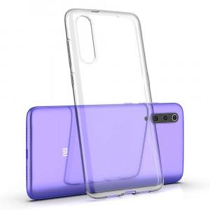 Прозрачный силиконовый чехол для Xiaomi Mi CC9 / Mi 9 Lite