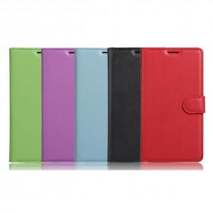 Чехол-кошелёк из экокожи с функцией подставки на магнитной застёжке для Xiaomi Redmi Note 4X (MediaTek)