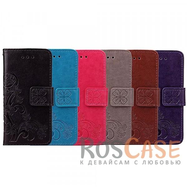 Чехол-книжка с узорами на магнитной застёжке для Huawei Honor 6AОписание:совместимость - Huawei Honor 6A;материал - искусственная кожа, поликарбонат;тип - чехол-книжка;защита со всех сторон;функция подставки;магнитная застёжка;текстурный узор;внутреннее отделение для пластиковых карт;предусмотрены все функциональные вырезы.&amp;nbsp;&amp;nbsp;&amp;nbsp;<br><br>Тип: Чехол<br>Бренд: Epik<br>Материал: Искусственная кожа