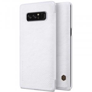 Nillkin Qin | Чехол-книжка из натуральной кожи для Samsung Galaxy Note 8