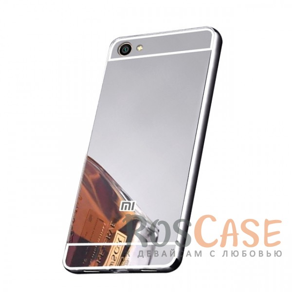 Защитный металлический бампер с зеркальной вставкой для Xiaomi Redmi Note 5A / Y1 Lite (Серебряный)Описание:разработан для Xiaomi Redmi Note 5A / Y1 Lite;материалы - металл, акрил;тип - бампер с задней панелью;зеркальная поверхность;металлический бампер;защита от царапин и ударов.<br><br>Тип: Чехол<br>Бренд: Epik<br>Материал: Металл