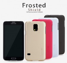 фото Матовый чехол Nillkin Super Frosted Shield для Samsung G900 Galaxy S5 (+ пленка)