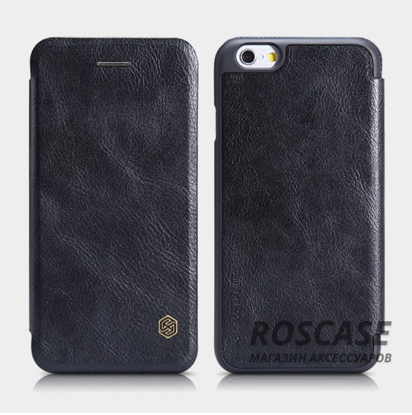 Кожаный чехол (книжка) Nillkin Qin Series для Apple iPhone 6/6s (4.7) (Черный)Описание:производитель:&amp;nbsp;Nillkin;совместим с Apple iPhone 6/6s (4.7);материал: натуральная кожа;тип: чехол-книжка.&amp;nbsp;Особенности:слот для визиток;ультратонкий;фактурная поверхность;внутренняя отделка микрофиброй.<br><br>Тип: Чехол<br>Бренд: Nillkin<br>Материал: Натуральная кожа