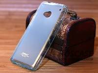 Фото TPU чехла Remax Pudding для HTC One / M7