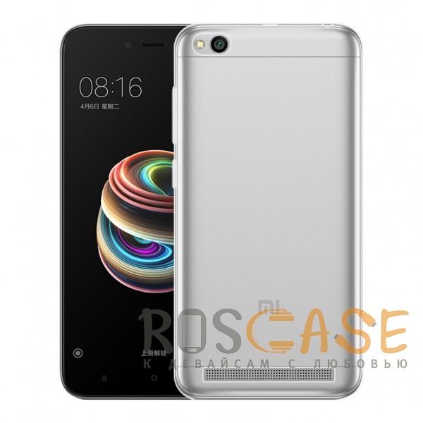 Фотография Прозрачный J-Case THIN   Гибкий силиконовый чехол для Xiaomi Redmi 5A