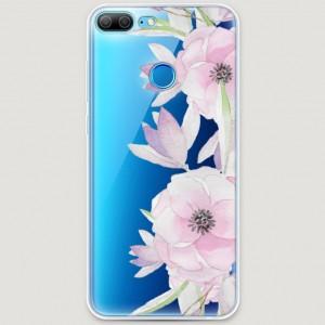 RosCase | Силиконовый чехол Нежные анемоны на Huawei Honor 9 Lite