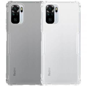 Nillkin Nature   Прозрачный силиконовый чехол для Xiaomi Redmi Note 10 / 10s